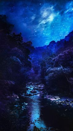 Blue Nature Scenery IPhone Wallpaper - IPhone Wallpapers
