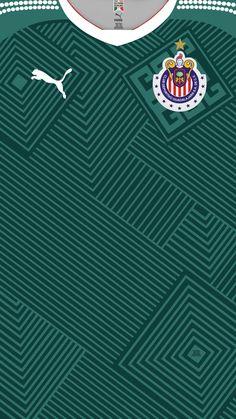 Chivas Guadalajara of Mexico wallpaper. Soccer Kits, Football Kits, Sport Football, Football Jerseys, Chivas Wallpaper, Chivas Soccer, Mexico Wallpaper, Sports Uniforms, Football Wallpaper