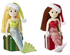 Even Santa has helpers under the sea! Joy and Noel are here to celebrate the holiday season with you!