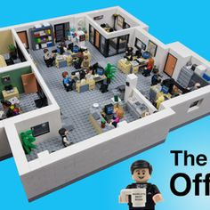 """""""Whenever I'm about to do something, I think, 'Would an idiot do that?' And if they would, I do not do that thing."""" - Dwight Schrute This LEGO Ideas project is based on the hit-comedy TV show The Office, which aired from As I watched. Lego Office, The Office Nbc, The Office Show, Michael Scott, Los Primates, Comedy Tv Shows, Comedy Comedy, Comedy Quotes, Lego Tv"""