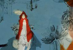 Daniel Egnéus  Little Red Riding Hood / Harper Collins 2011