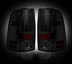 Recon Smoked LED Tail Lights (14-16 Cummins)