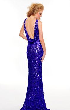L8916 in Royal #prom2013 #preciousformals #promdresses