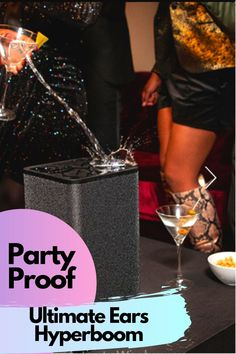 Yaa, Really its Party Proof. are you looking best Bluetooth Speaker for Outdoor & Indoor Party so Ultimate Ears Hyperboom for you. this is the one of the best Party Speaker for enjoy party with your friends. Ultimate Ears Hyperboom is waterproof so its Drink Proof speaker means you can enjoy Drink Party. Its Bluetooth version v5.0, Battery life upto 24 hours.   #speaker #partyspeaker #bluetoothspeaker #fourthspeaker #waterproofspeaker Best Portable Bluetooth Speaker, Waterproof Bluetooth Speaker, Party Speakers, Party Drinks, Better Life, Ears, Indoor, Friends, Interior