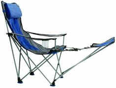 Freeport Park Folding Camping Chair with Cushion Fabric Color: Green