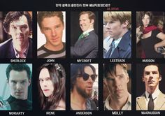 It was if all of the casting is all Benedict