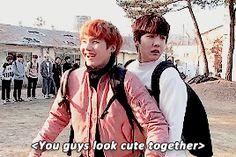 Awww.....Yoonseok being cute...