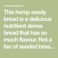 This hemp seedy bread is a delicious nutritient dense bread that has so much flavour. Not a fan of seeded breads normally this one is a star recipe Lowest Carb Bread Recipe, Low Carb Bread, Almond Recipes, Low Carb Recipes, Other Recipes, New Recipes, Keto Cereal, Star Recipe, Chicken Teriyaki Recipe