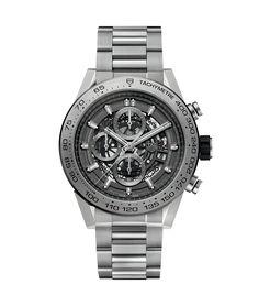 TAG Heuer Carrera Calibre HEUER 01 Chronograph 100 M - 45 mm Grey Phantom Titanium CAR2A8A.BF0707 TAG Heuer watch price