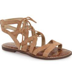 Sam Edelman 'Gemma' Lace-Up Sandal