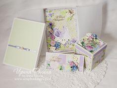 Сегодня я хочу показать свою новую серию подарков на свадьбу «Вальс цветов». В нее вошли: открытка в коробочке, конверт для денег и коробочка для денег (меджик бокс с сюрпризом внутри).  http://www.scrapbookingblog.ru/seriya-svadebnyh-podarkov-vals-tsvetov/
