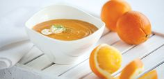 Curry-Kissed Sweet Potato, Fennel, and Orange Soup, alive #375, January 2014