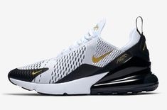 sports shoes 17876 e3c52 This Nike Air Max 270 Comes With Subtle Hits Of Metallic Gold