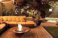 EcoSmart Fire creates innovative, eco-friendly deck heating products like e-NRG bioethanol burners, designer fireplaces, custom fireboxes & outdoor fireplaces.