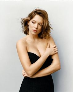 Lea Seydoux, because of future hair inspo and because she's my woman crush.