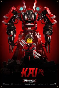 The LEGO Ninjago Movie filme online subtitrat în Română Ninjago Lego Sets, Ninjago Kai, Lego Ninjago Movie, Lego Movie, Ninjago Party, Movie 20, Lego Mecha, Jackie Chan, Lego Marvel