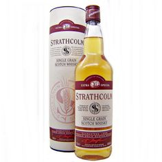 Strathcolm Single Grain Scotch Whisky Beer Bottle, Vodka Bottle, Column Still, Grain Whisky, Whisky Shop, Blended Whisky, Malted Barley, Dundee, Scotch Whisky