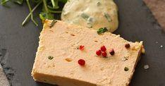 Terrine de saumon & sauce mousseline orange et ciboulette