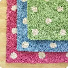 Dotted Bath Mats!  - hippicks.com