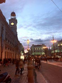 La Puerta del Sol, más céntrico imposible.