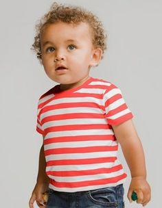 BZ02S Baby Stripy T