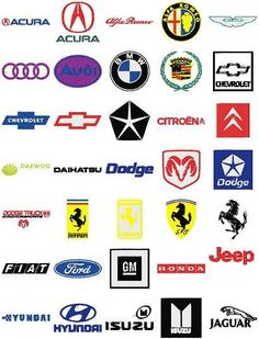 Car Logos And Names Cars Pinterest Car Logos Find Cars And Cars - Car sign with namesclick a car logo quiz