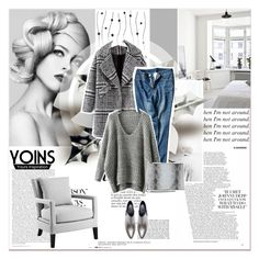 """# III/22 Yoins"" by lucky-1990 ❤ liked on Polyvore featuring Anja, Zara, Eichholtz and yoins"