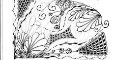 """inquisitive-Sue: Zentangle Weekly Challenge #57 - """"Sanibelle"""""""