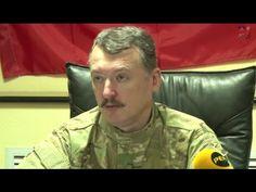 [eng + ger subs] Igor Strelkov briefing 11/09/14 (translated)