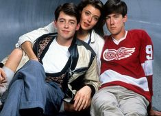 Matthew Broderick, Mia Sara, and Alan Ruck publicity portrait for the film 'Ferris Bueller's Day Off', Get premium, high resolution news photos at Getty Images Best New Movies, Most Popular Movies, Good Movies, Teen Movies, Movie Tv, Alan Ruck, High School Movies, Mia Sara, Ferris Bueller