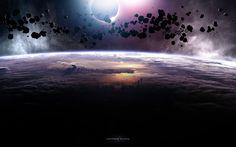 asteroid Wallpaper HD Wallpaper