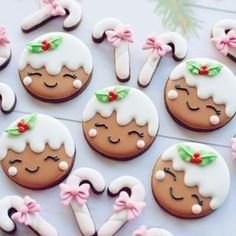 🌟Hope everyone had a wonderful Christmas 🌟 Christmas Sugar Cookies, Christmas Cupcakes, Christmas Sweets, Christmas Cooking, Noel Christmas, Holiday Cookies, Christmas Candy, Simple Christmas, Fancy Cookies