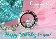 Origami Owl- Birthday locket  http://saundracook.origamiowl.com