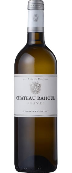 Chateau Rahoul Blanc (2008)  【Color】 White 【Grade】 A.O.C.- Bordeaux 【Origin】 Bordeaux, France 【Producer】 Chateau Rahoul 【Style】 Dry 【memo】エレガントな香り○、均整の取れた味が本格派。★★★★★
