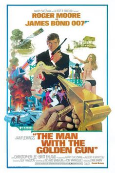 James Bond - The Man with the Golden Gun poster