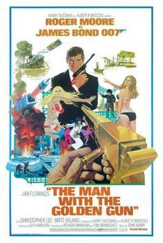 James Bond - The Man with the Golden Gun poster