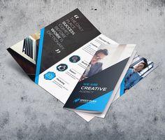Trifold Brochures by Creative Idea on @creativemarket