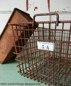Into Vintage: Rust. Ick. : The Goods