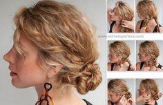 Kıvırcık Saçlar İçin Kolay Saç Modelleri | Esranin Portresi | Page 7