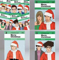 Rather than going for the usual snow scenes, you can always opt for these alternative music Christmas cards by Piper Gates Design. Plenty of designs to choose from. Holiday Greeting Cards, Christmas Cards, Merry Christmas, Snow Scenes, Alternative Music, Winter Holidays, Gates, Traditional, Fictional Characters