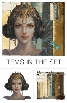 """""""Queen"""" by formedbyfire ❤ liked on Polyvore featuring art"""