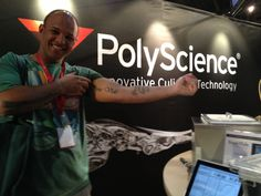Sous vide chef putting his money where his mouth is... So to speak. @polyscience technology