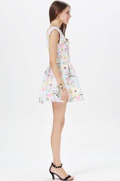 Encantador vestido para jovencitas