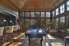 A pool table and a bar... what else could you need? #mancave Hinsdale, IL Coldwell Banker Residential Brokerage