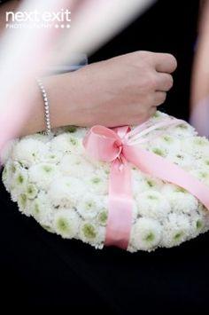 #ring bearer flower pillow      CUTE