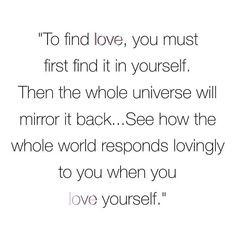 #loveyourself When You Love, You Must, Women's Fashion, Photo And Video, Words, Quotes, Instagram, Quotations