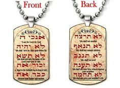 Ten Commandments Dog tag Necklace Pendant Interway Trading http://www.amazon.com/dp/B00ORINZN0/ref=cm_sw_r_pi_dp_LFENvb0H5P0RQ
