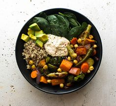 THE SIMPLE VEGANISTA: ROASTED NOURISH BOWL
