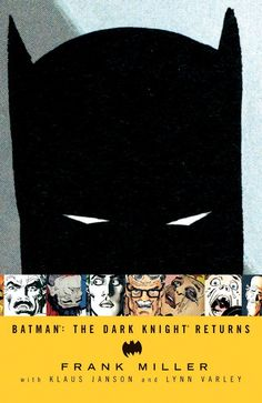 CALL #       PN6728.B37 M55 1986. AUTHOR       Miller, Frank, 1957- TITLE        Batman : the dark knight returns / Frank Miller, story and pencils ; Klaus Janson, Frank Miller, inks ; Lynn Varley,                 colors and visual effects ; John Costanza, letters ; based on characters created by Bob Kane [introduction by Alan Moore]. IMPRINT      New York, NY : Warner Books, c1986.