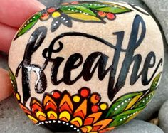 create / painted rocks /painted stones / by LoveFromCapeCod